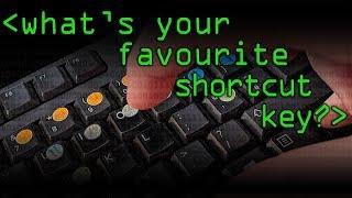 Favourite Shortcut Key? (Soundcheck Question) - Computerphile