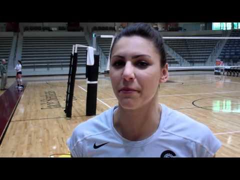 VB: Kristi Block South Alabama Post-Match Interview