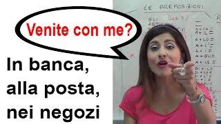 Le Preposizioni - One World Italiano Video Corso Lezione 13