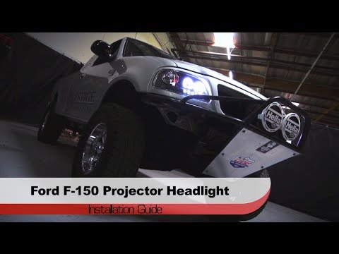 Spyder Auto Installation 1997 2003 Ford F 150 Projector Headlights