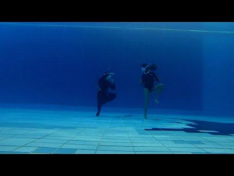 배긴vs흐긴#프리다이빙 #freediving #다이빙신 #funnydining #funnyvideo