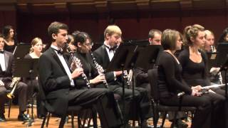 University of Michigan Symphony Band J'ai été au bal Donald Grantha...