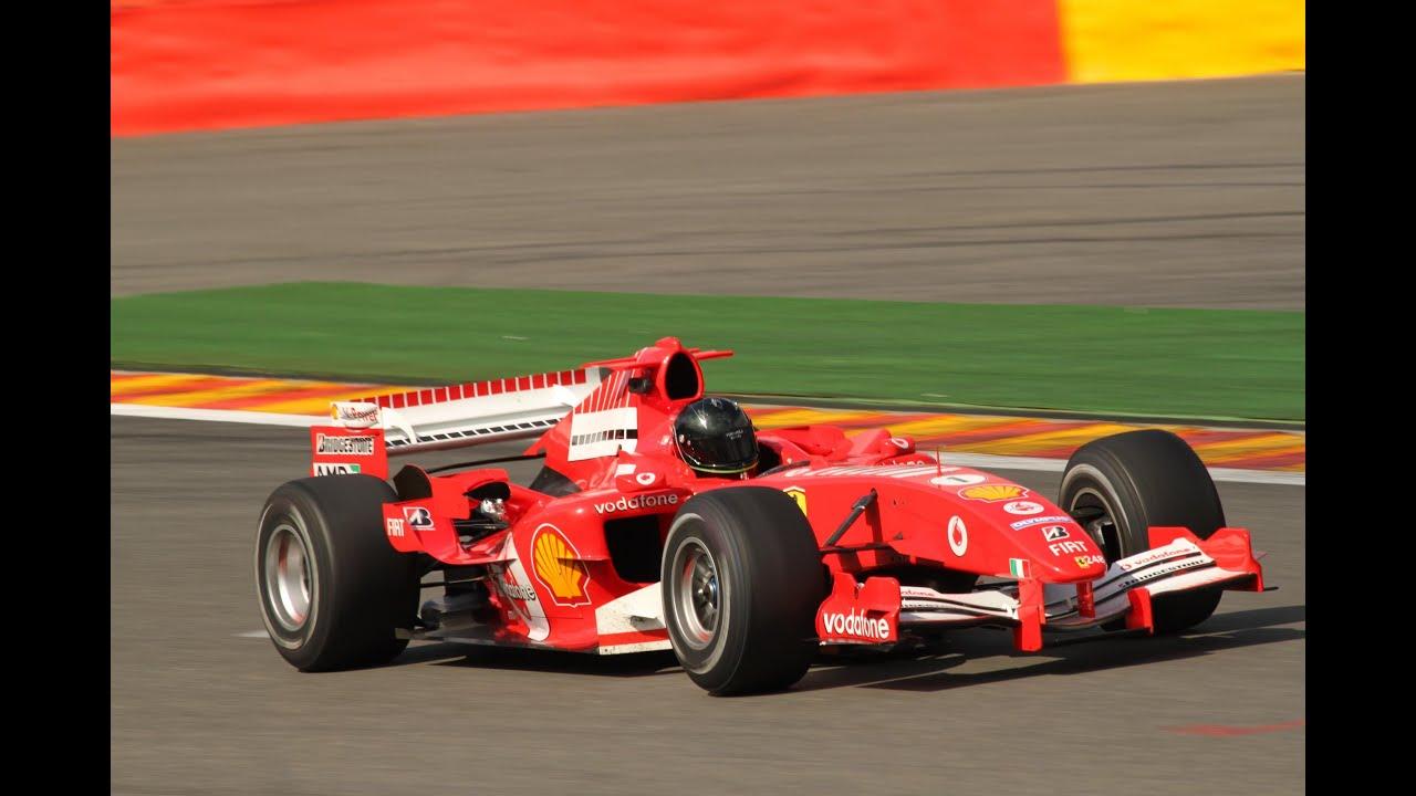 Old New Ferrari Cars In Action Full Power Hard Revs