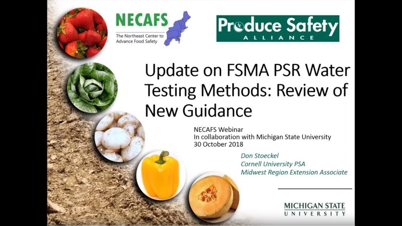 Past Webinars | The Northeast Center to Advance Food Safety | The