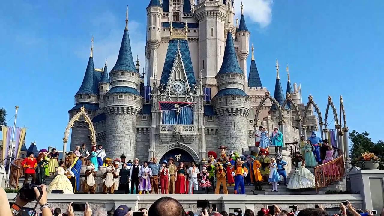 "Walt Disney World 45th Anniversary ""When You Wish Upon A ..."