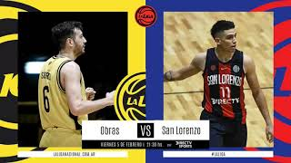 #LNB - Obras Basket 69-85 San Lorenzo (5/2/2021)