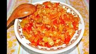 Заготовка на зиму для супа с перловкой (самостоятельное блюдо или же как добавка к супу)