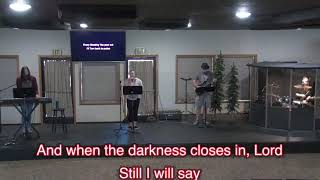 You're Not Far, The Day No One Believed, Jeana Darby and Hope Rising, Hope Church Paradise, 2-28-21