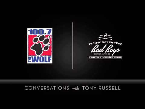 KKWF The Wolf 100.7 Seattle Conversations With Tony Russell - Bad Boys Coffee