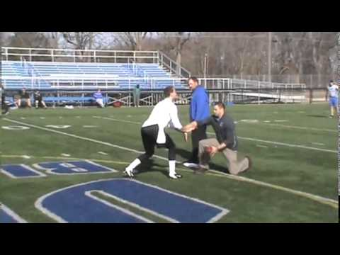 2014 Urbana University Football Pro Day - QB D.J. Mendenhall