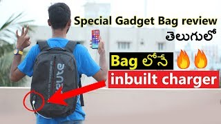 Best Gadget Bag 🔥🔥 Seute TeckPro Bag Review || in Telugu