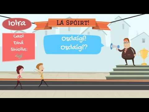 Modh Ordaitheach - Rang Gaeilge
