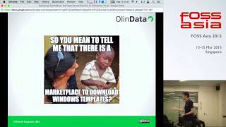 Deploying OpenNebula, the Open Source Solution for Enterprise Cloud Solution - FOSSAsia 2015