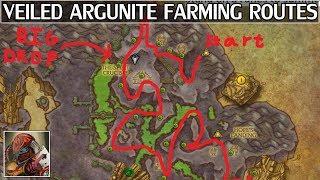 7.3 Veiled Argunite Farming For 910+ Gear - WoW Legion