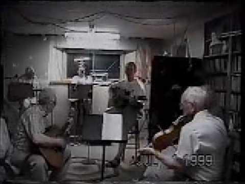 Paul Poirier Accompanies on Yellow Bird Instrumental