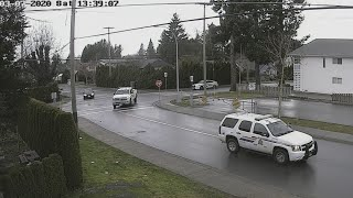 It Looks Like Every Cop Showed Up For This Chase In Chilliwack BC
