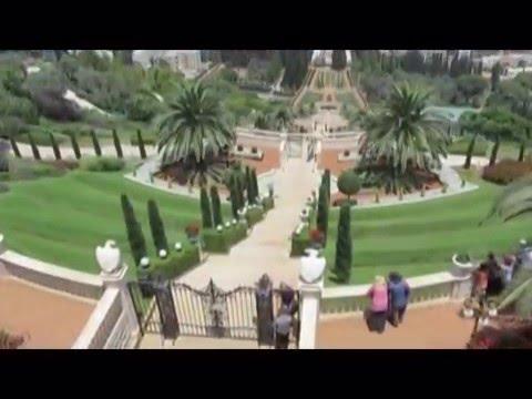 The Bahai Gardens & Shrine on Mount Carmel, Haifa, Israel - Breathtaking Beauty