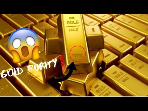 how-to-check-gold-purity!!!!-|-kh-gold-&-diamonds-|-purity-analysing...