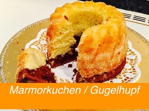 Marmorkuchen / Gugelhupf selber zuhause backen - Rezept - Tutorial - Coffee Artist