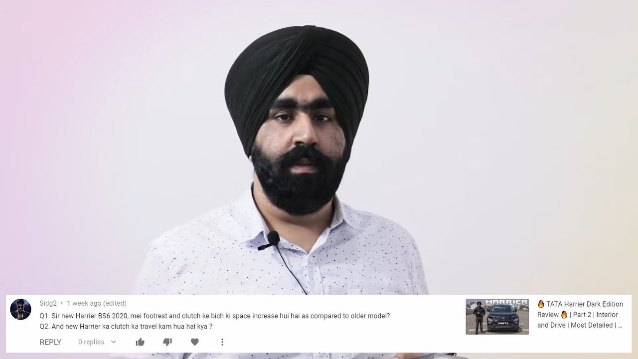 Download #SardaarG QnA #20   Your Questions Answered   Harrier and Meteor 350   Spare Wheel