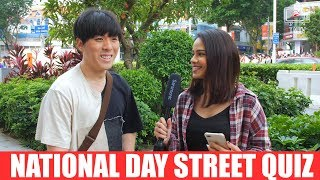 Singapore National Day Street Quiz (Can you get em all?)