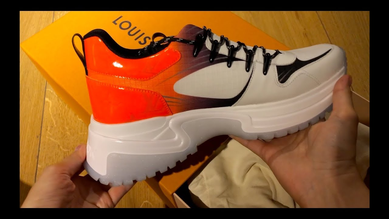 7d6eb642e02 LOUIS VUITTON Run Away Pulse sneaker Unboxing