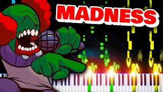 Download Madness (from Friday Night Funkin' Tricky Mod) - Impossible Piano Remix