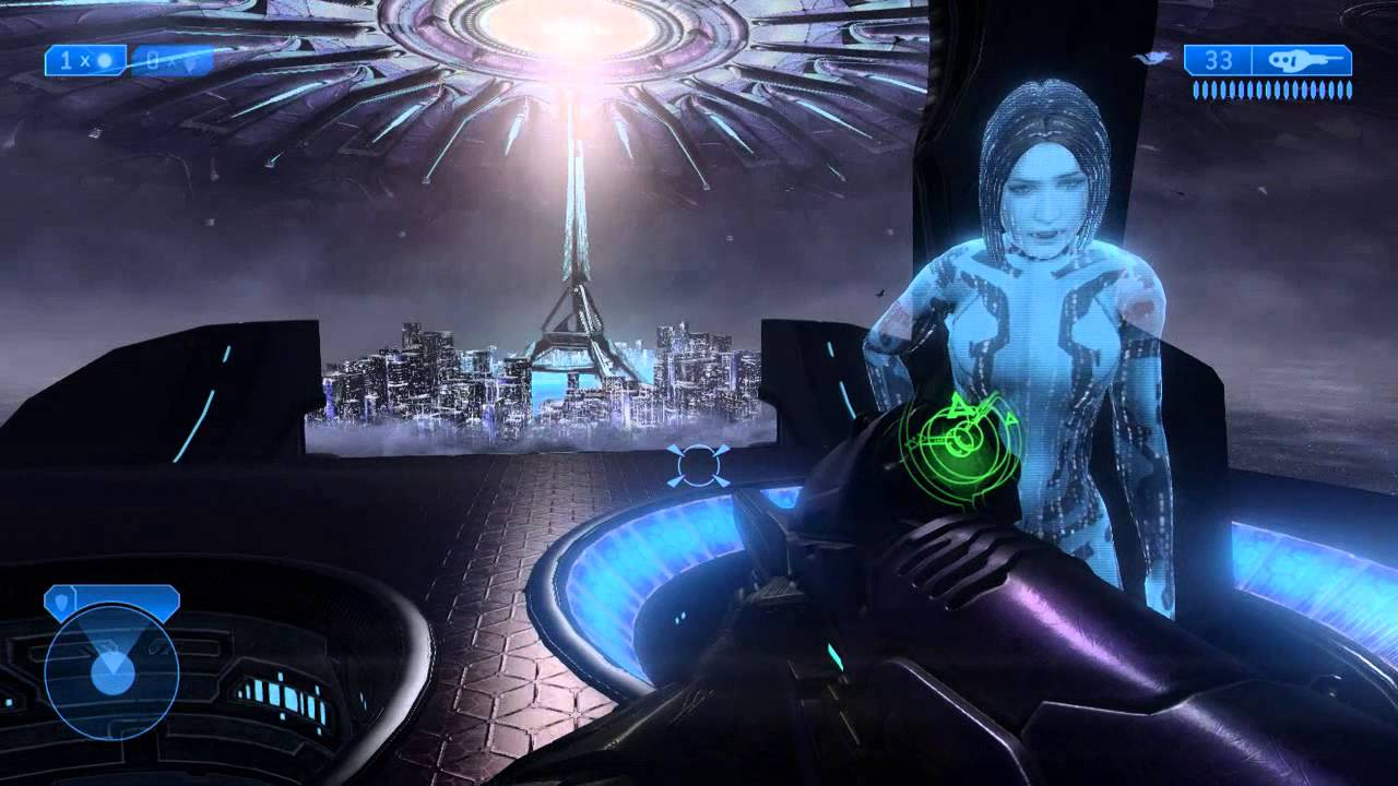In Halo 2: Anniversary, Cortana is made slimmer in one of