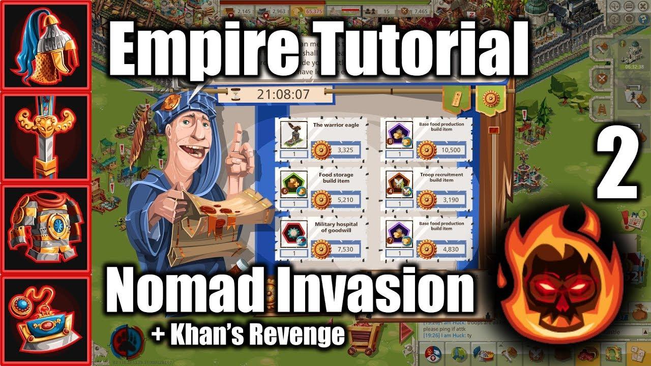 Goodgame Empire - Nomad Invasion & Khan's Revenge (Part 2/2: Prizes,  Equipment)