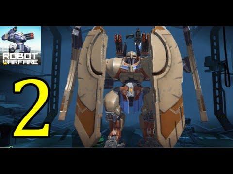 Robot Warfare - Max Level Viking Game Play Part 1 (ios,android)