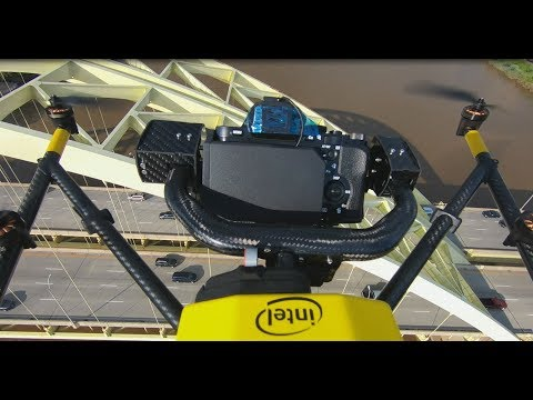 Intel Commercial Drones Speed Up US Bridge Inspections