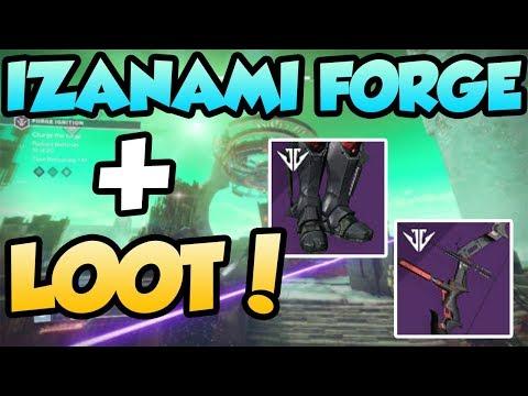 Izanami forge + LOOT! | Destiny 2 Black Armory thumbnail