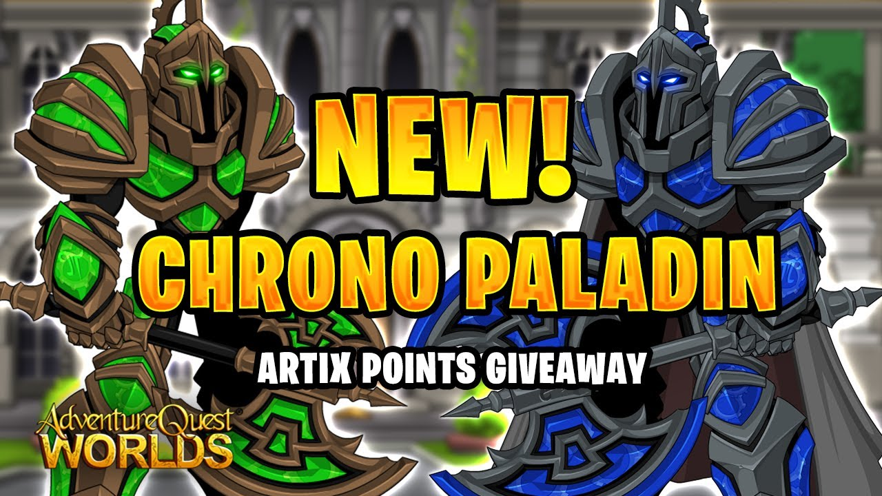 *NEW* Chrono Paladin Bonus Package Review! Artix Points Giveaway!