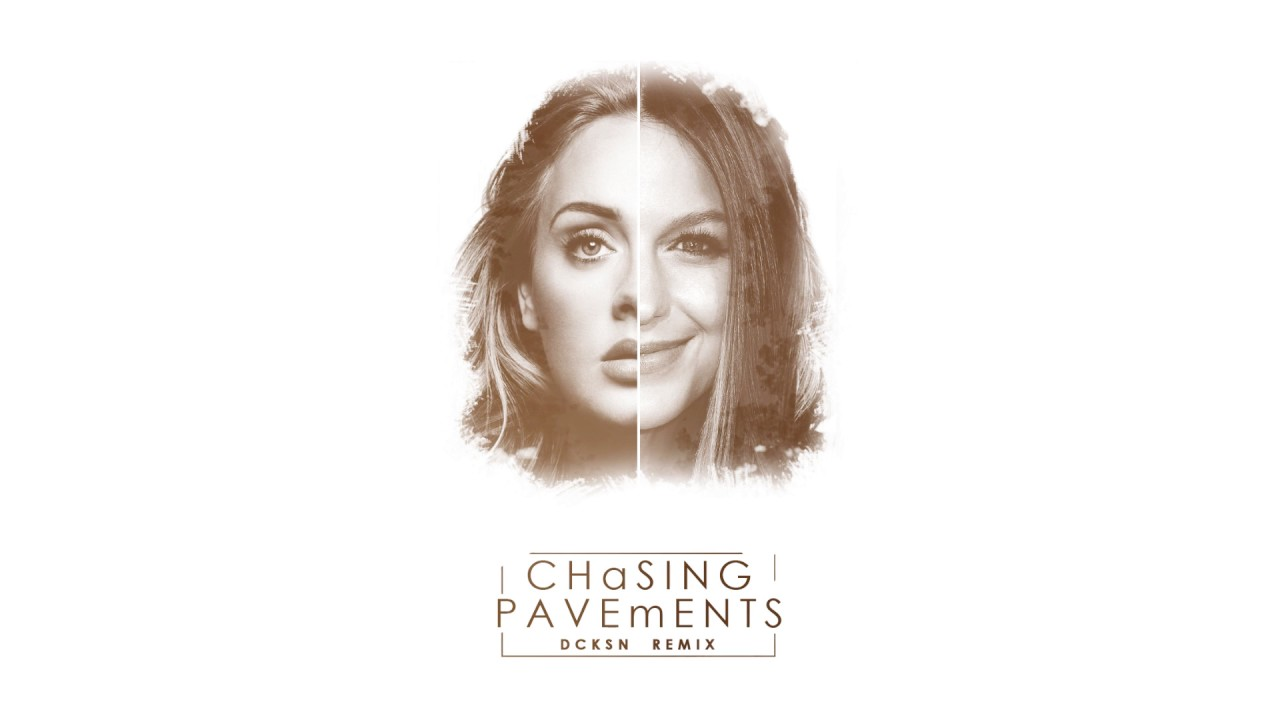 chasing pavements Chasing pavements is a song by british singer adele, second single from her debut album 19 (2008) this song writed by adele and eg white.
