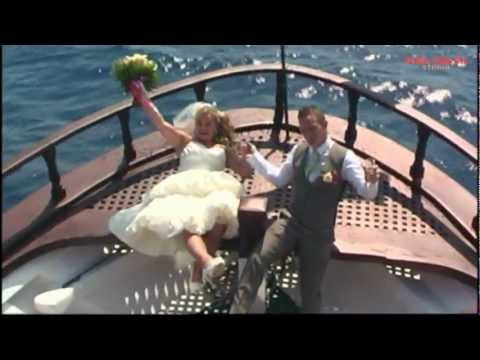 "The Wedding of Brian & Sheena Onboard ""The Captain Aris"""