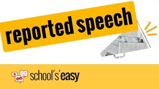 reported speech - indirect speech | Wie nutzt man die indirekte Rede?