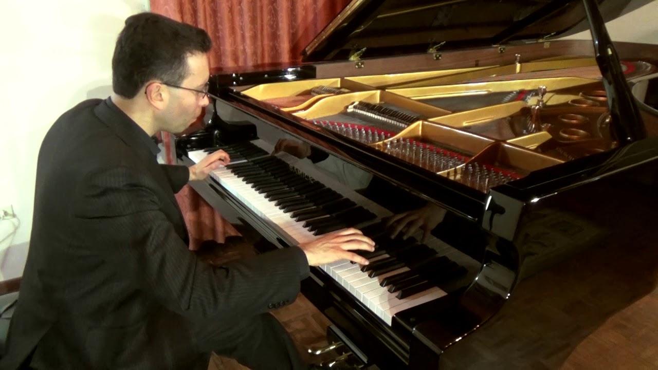 Chopin Scherzo No. 2 Op. 31. Santiago Marroquín, piano.
