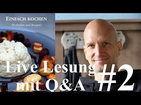 Einfach kochen - Lesung mit Q&A #2