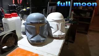 Star Wars.Как сделать Шлем Commando Helmets  Inspired by Republic Commando part 2