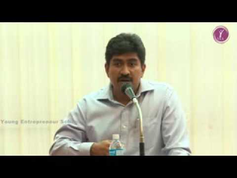 Mr.M. Arunkumar, MD-Casa Grande on Entrepreneurship - Madurai