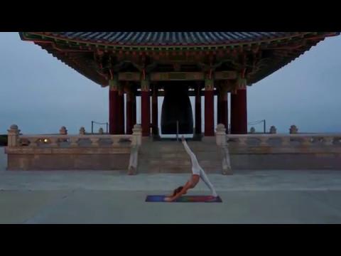 San Pedro Temple Yoga Savvy Drone footage