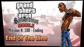 GTA San Andreas - iPad Walkthrough - Ending / Final Mission - End of the Line (HD)