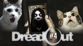 """★ #4 DreadOut - """"Błądzenie w ciemnych szkolnych korytarzach -_-"""""""