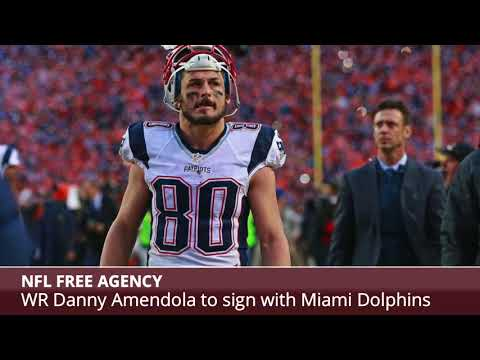 low priced 45f39 05e61 BREAKING: Former Patriots Receiver Danny Amendola To Sign ...