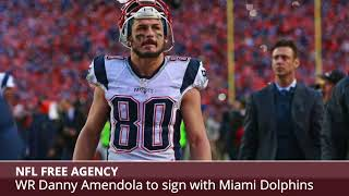 BREAKING: Former Patriots Receiver Danny Amendola To Sign With Dolphins - Details & Analysis
