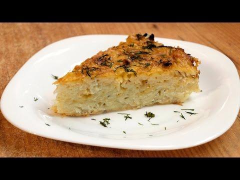 Тортилья с картофелем и луком