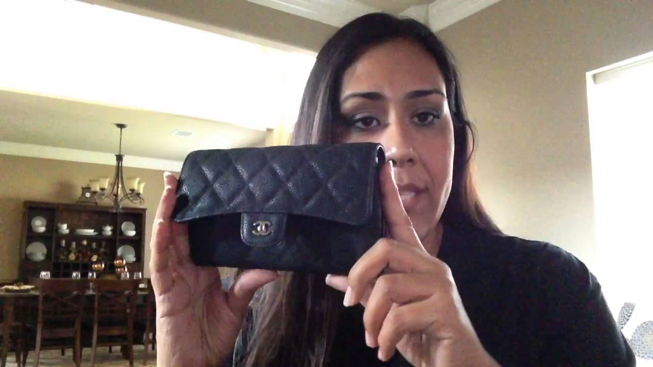 f4872b787bae61 Chanel Flap Wallet Review! - YouTube