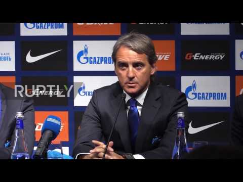 Russia: We will bring Zenit FC back to the top – new coach Mancini