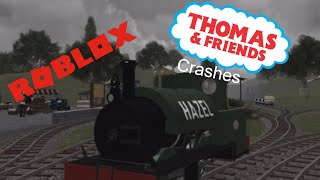 ROBLOX Thomas and friend crashes in somewhere Wales