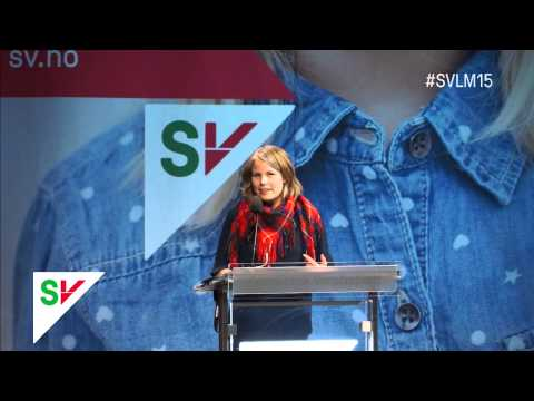 Stortingsrepresentant Kirsti Bergstø utfordrer Audun Lysbakken til å signere Tromsøoppropet